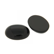 Cabochon oval 6 x 4 mm Onyx