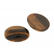 Cabochon oval 10 x 8 mm Tigerauge
