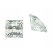 Zirk. weiß carre princess cut 5,5 - 20,0 mm