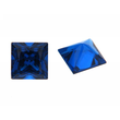Synth. Blau Spinell carre princess cut