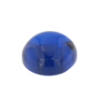 Synth. Blau Spinell rund cabochon