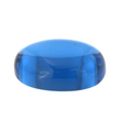 Synth. Blau Spinell oval cabochon