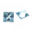 Synth. Aquamarin carre princess cut