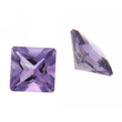 Amethyst carre step cut